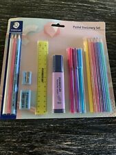 Staedtler Pastel Stationary Set 16 Pieces Brand New