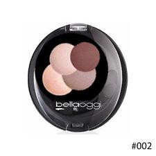 Eyeshadow Eyes Bella Oggi Poker Dust Compact Bright Makeup 4 Combinations