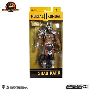 """Mortal Kombat Shao Kahn Platinum Skin Kahn 7"""" Figure - McFarlane Toys"""