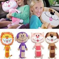 NEW Kids Seat Belt Cover Children Soft Pet Pillow Car Animal Seatbelt Cushion