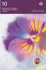 Canada 2015 #BK614 Pansies (Booklet with 10 stamps)