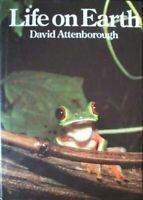 Life On Earth: A Natural History by David Attenborough Hardback Book