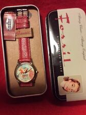 NEW Fossil Rare Santa Christmas Holiday 1996 RARE Edition Watch Leather NWT