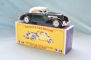 Matchbox Yesteryear Y18-1 1937 Cord 812 - Code 3 (D99)