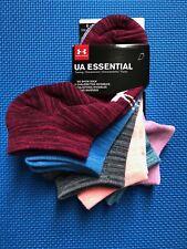 Under Armour Women's Twist Essentials No Show Sock 6 Pairs