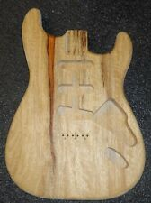 Stratocaster Style Body ~ Cut to order ~ Your Wood Choice ~ Hardtail or Temolo ~