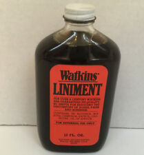 vintage watkins liniment red label 12 ounce bottle photo movie prop display