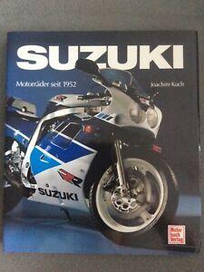 SUZUKI Motorräder seit 1952 - Buch von Joachim Kuch aus dem Motorbuch Verlag