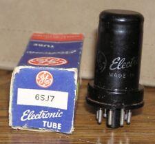 1 NOS GE 6SJ7 Vacuum Tube ~ Tests Good