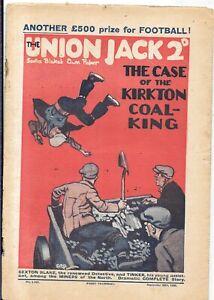 vintage Union jack Sexton Blake comic No 1197 Sept 25th 1926