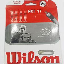 Wilson NXT 17 String Natural Tennis Racquet String US Open Official
