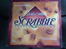 "Milton Bradley ""SCRABBLE DELUXE EDITION"" Turntable Board Game"