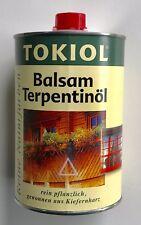 1L Le Tonkinois Tokiol Balsamterpentin Öl Kiefer - für Naturfarben und Ölfarben
