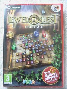77428 - Jewel Quest Heritage [NEW / SEALED] - PC (2010) Windows XP 2279A