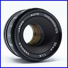 YASHINON 50mm f1.9 m42 a vite vintage screw mount yashica f1.8 f2 lens obiettivo