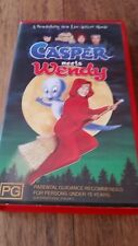 CASPER MEETS WENDY - HILARY DUFF & GEORGE HAMILTON -  VHS VIDEO