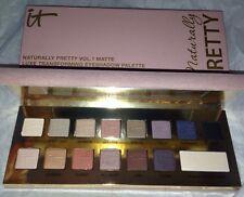 It Cosmetics Naturally Pretty Vol.1 Matte Luxe Transforming Eyeshadow Palette BN