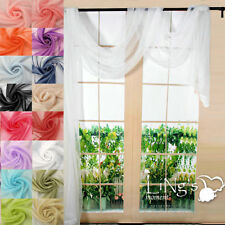 "Less than 40"" Sheer Window Curtains"