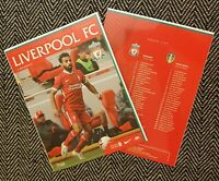Liverpool v Leeds Premier League 2020/21 Inaugural Matchday Programme 12/9/2020!