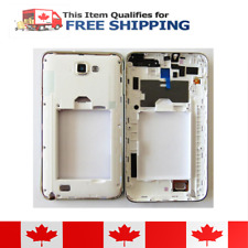 Samsung Galaxy Note N7000 White Middle Housing Frame with Camera Lens