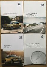 Genuine 2018 Volkswagen T-Roc Owners Manual's VW Handbooks Set