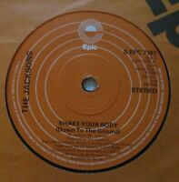 """THE JACKSONS ~ Shake Your Body (Down To The Ground) ~ 7"""" Single"""