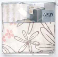 Nip Apt. 9 Soft Trace Floral Fabric Shower Curtain (70� X 72�, Ivory/Tan) $39.99