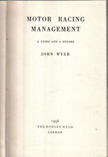Motor Racing Management by John Wyer 1956 Aston Martin & Lagonda content +
