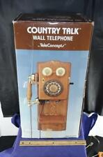 Country Talk Wall Telephone TeleConcepts # 559146 In Box
