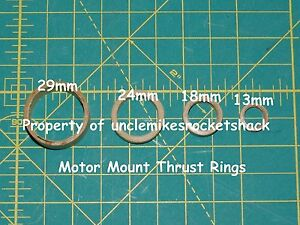 Builders Pack Thrust Ring 29mm Motors Pack Of 100 FREE SHIPPING