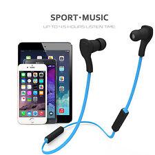 Wireless Sports Stereo Sweatproof Bluetooth Magnetic Earphone Headphone Earbuds