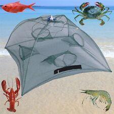 Foldable Fishing Bait Net Trap Cast Dip Cage Crab Fish Minnow Crawdad Shrimp L7