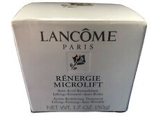 LANCOME RENERGIE MICROLIFT Lifting Firming Anti-Wrinkle Cream~1.7 OZ~New In Box