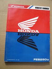 Honda FES250 W  Werkstatt - Handbuch aus 1997_Werkstattbuch_Schaltplan_Anleitung