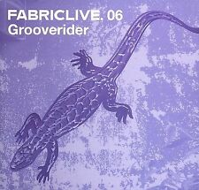 NEW FabricLive 06: Grooverider (Audio CD)