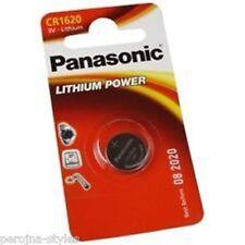 Pile bouton CR1620 au lithium PANASONIC  Button Cell Knopfzelle