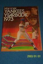 1973 NEW YORK YANKEES Yearbook MANTLE DIMAGGIO Ruth Bobby MURCER Thurman MUNSON