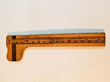 "Vintage Kerby & Bro 6""Boxwood Caliper, Circa Late 1800's, Rare Find, Great Cond."