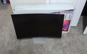 Dell S3221QS 32 Inch Curved 4K HDR UHD, FreeSync, VA Thin Bezel Monitor used