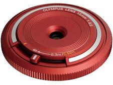 Olympus Body Cap Lens 15mm F8 BCL-1580 Red