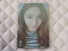 (ver. Krystal) f(x) FX 4th Album 4 WALLS Photocard KPOP SMTOWN