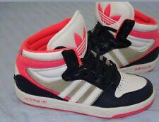 GEPFLEGT ADIDAS ORIGINALS COURT ATTITUDE hi mid Sneaker Sportschuhe big logo 35