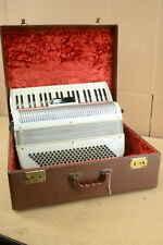 Vintage Zuercher Accordion with Case - Made in USA