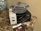 NEW Staub Cast Iron 1 quart OVAL French Oven Cocotte with Lid - GRAPHITE GREY
