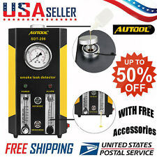 🔥utool Auto EVAP Car Pipe Leak Smoke Machine Diagnostic Leak Detection Tester#