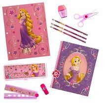 Disney Store RAPUNZEL tangled set pencil case notebook SCHOOL supplies NEW