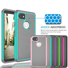 For Google Pixel 2 / Pixel 2 XL / Shockproof Hybrid Rubber Hard Protective Case