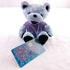 Liquid Blue Grateful Dead Beanie Bears Snowflake 1999 Collectible 4th Edition
