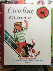 Album Caroline en avion par Pierre Probst 1979