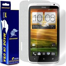 ArmorSuit MilitaryShield HTC One X Screen Protector + White Carbon Fiber Skin